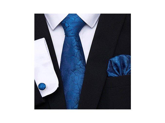elegantni modra kravata