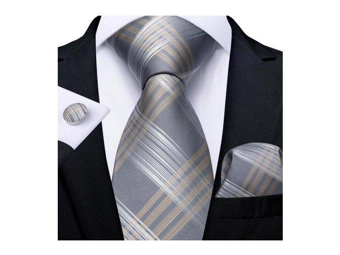 kravata seda elegantni