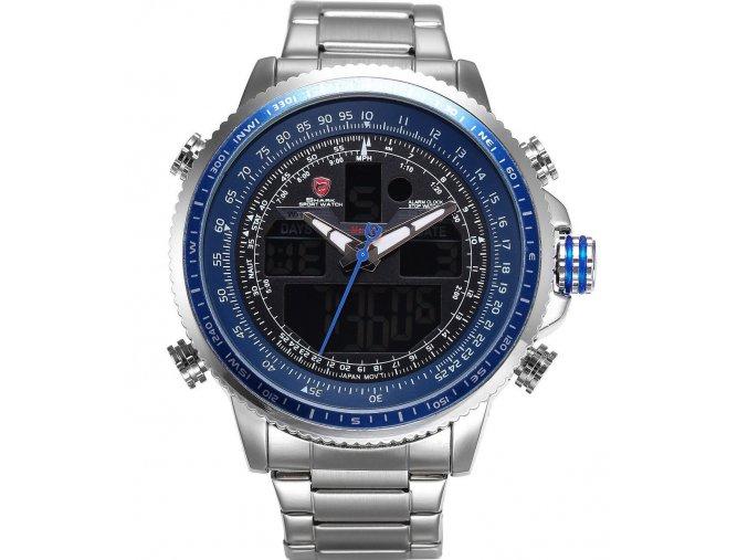shark hodinky ocelove funkce panske