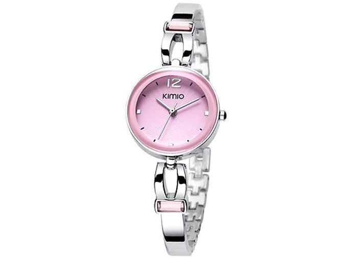 Elegantní dámské hodinky Kimio Atractive - stříbrné
