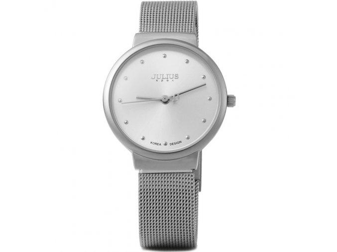 Atraktivní dámské hodinky zn. Julius - stříbrné