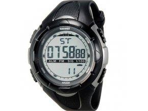 Sportovní hodinky Skmei odolné z PU - čas, kalendář, alarm, chronograf