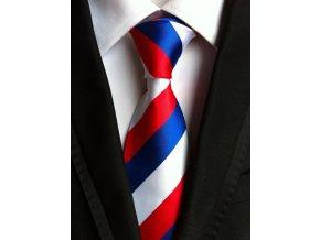 panska kravata ceska trikolora