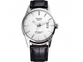 Módní hodinky Sinobi ultra tenké - hnědé - Elegans.cz 155dcde9513