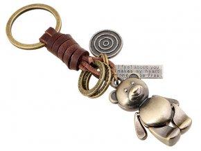 vintage klicenka privesek meda