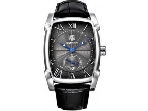 panske cerne hodinky elegantni hranate
