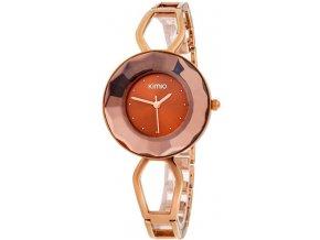 Elegantní dámské hodinky Kimio Spark III. - měděné
