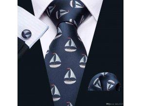 panska kravata plachetnice namornicka