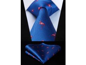 kravata plamenak