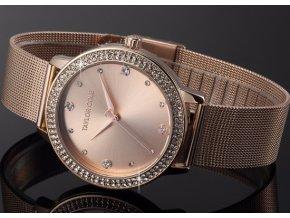 damske hodinky ruzove zlato