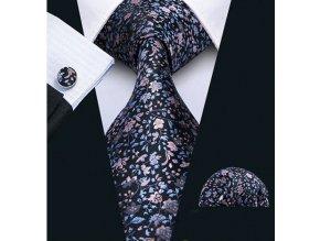 kravatovy set kravata menzety kapesnicek elegantni