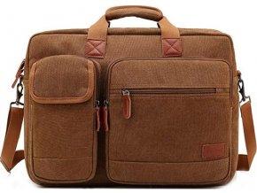 cestovni velka panska taska notebook hneda