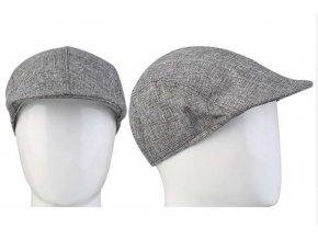 Pánská / dámská lehká čepice bekovka - šedá