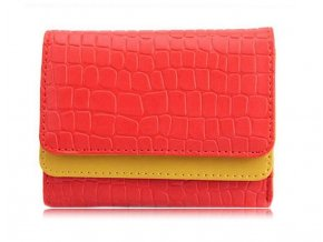 Barevná peněženka Pretty - červená