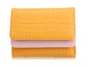 Barevná peněženka Pretty - žlutá