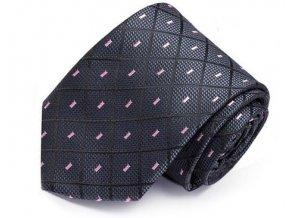 panska kravata seda fialova elegantni