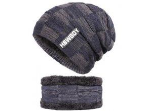 modra zimni cepice rolak kozisek