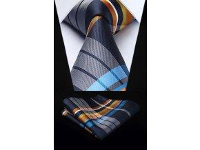 karovany kravatovy set