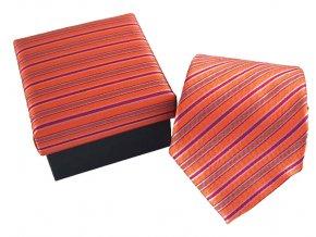 oranzova kravata