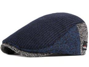 modra bekovka panska zimni cepice