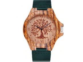 drevene hodinky kozene panske damske