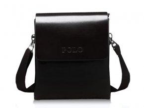 Crossbody taška příruční Polo z eko kůže vel. M - černá b0ac3ee5fc6