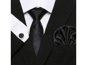cerna elegantni kravata