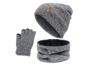 zimni cepice nakrcnik sala rukavice