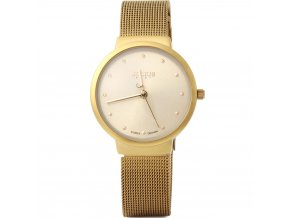 Atraktivní dámské hodinky zn. Julius - zlaté 3c689da152