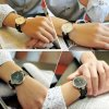 Atraktivní dámské hodinky ultra tenké zn. Sinobi - černobílé