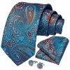 modra kravata kravatovy set