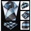 modry kravatovy set pansky
