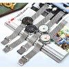 Atraktivní hodinky Naviforce 9052 s datumem - bílé
