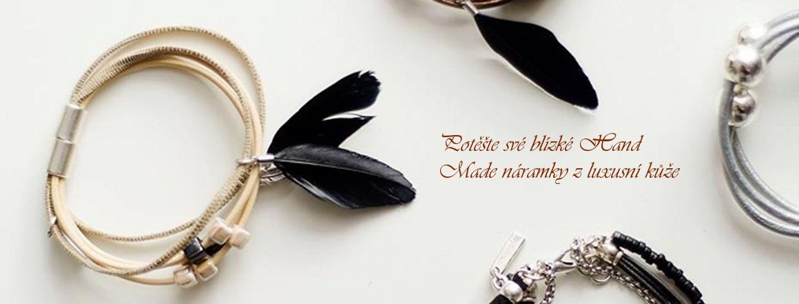 Potěšte své blízké Hand Made náramky z luxusní kůže | Elegantní dárek