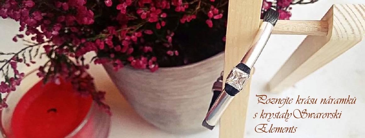 Poznejte krásu a eleganci dámských náramků na ruku s krystaly Swarovski elements