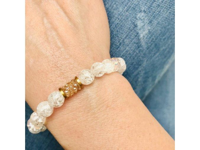 naramek damsky krystaly swarovski pukany kristal