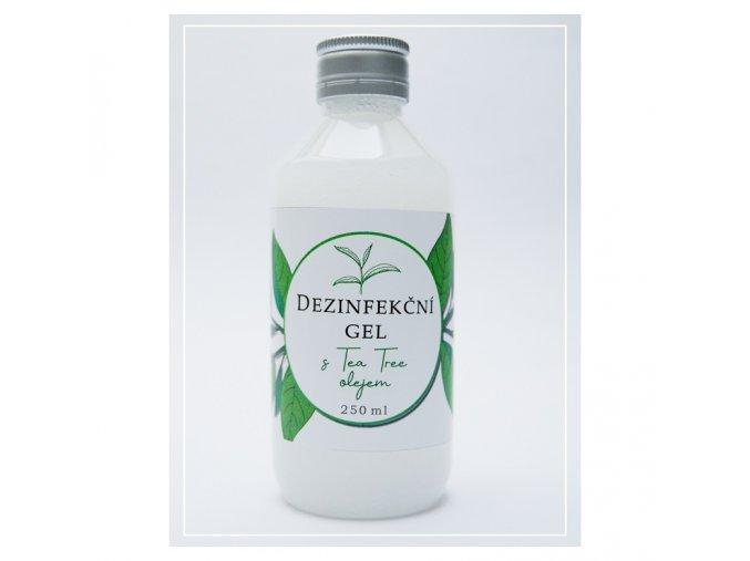Dezinfekční gel na ruce s Tea Tree olejem 250 ml
