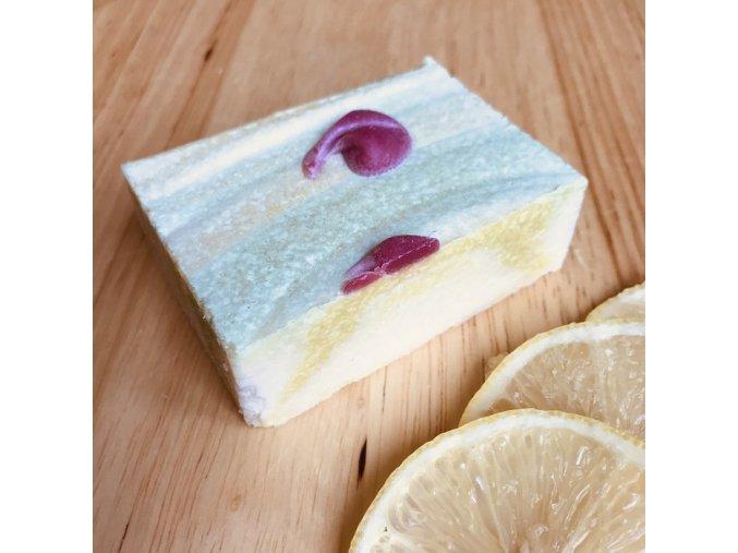 solne vegetarianske mydlo citron