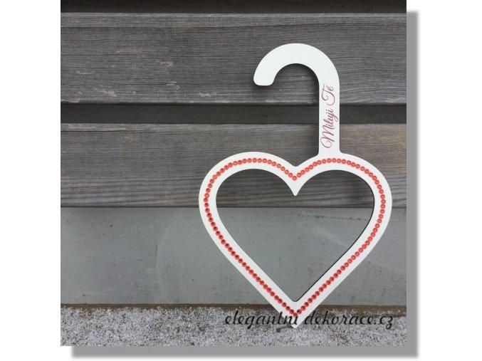 ramínko srdce valentýnské