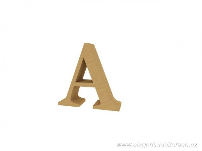 písmeno A Georgia