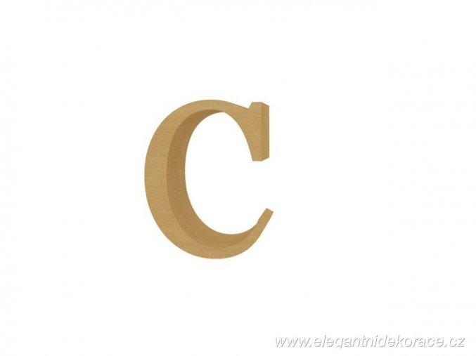 písmeno C Georgia