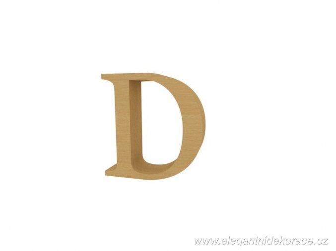 písmeno D Georgia