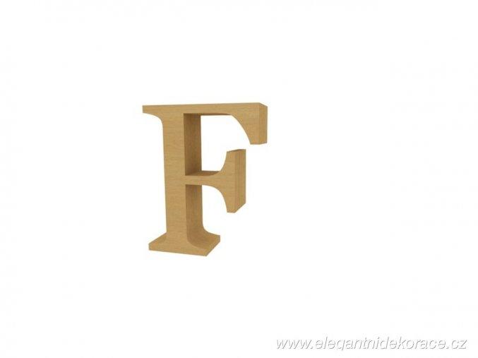 písmeno F Georgia