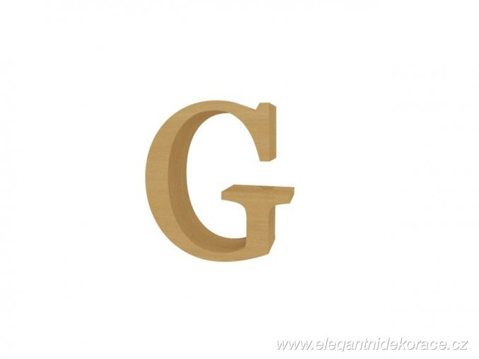 písmeno G Georgia