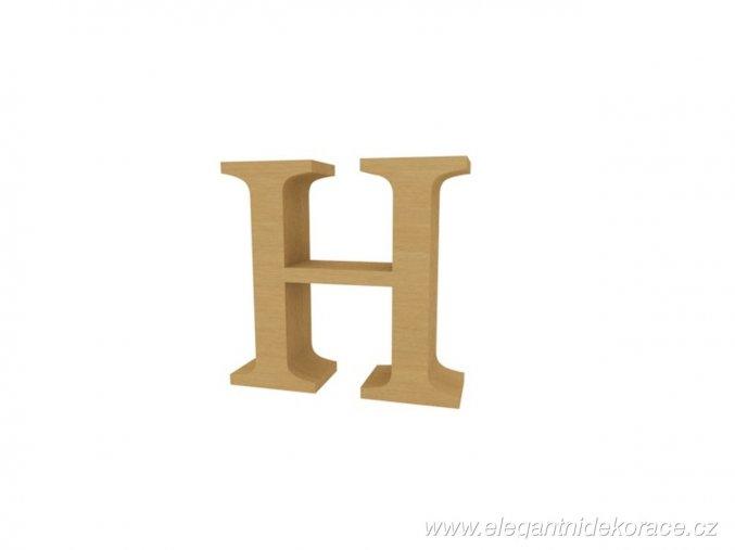 písmeno H Georgia