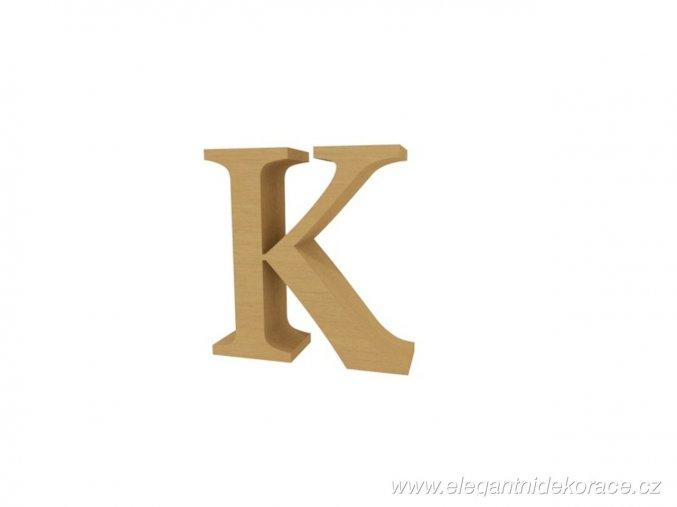 písmeno K Georgia