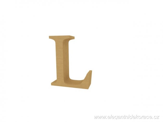 písmeno L Georgia