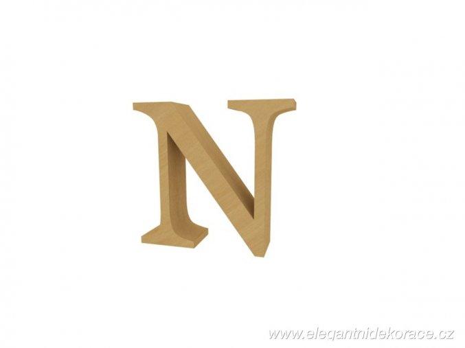 písmeno N Georgia