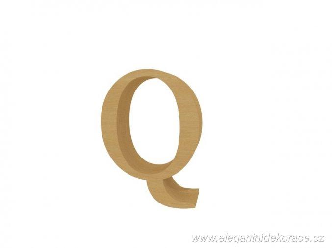 písmeno Q Georgia