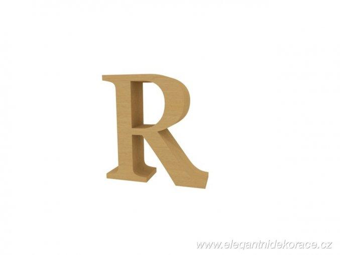 písmeno R Georgia